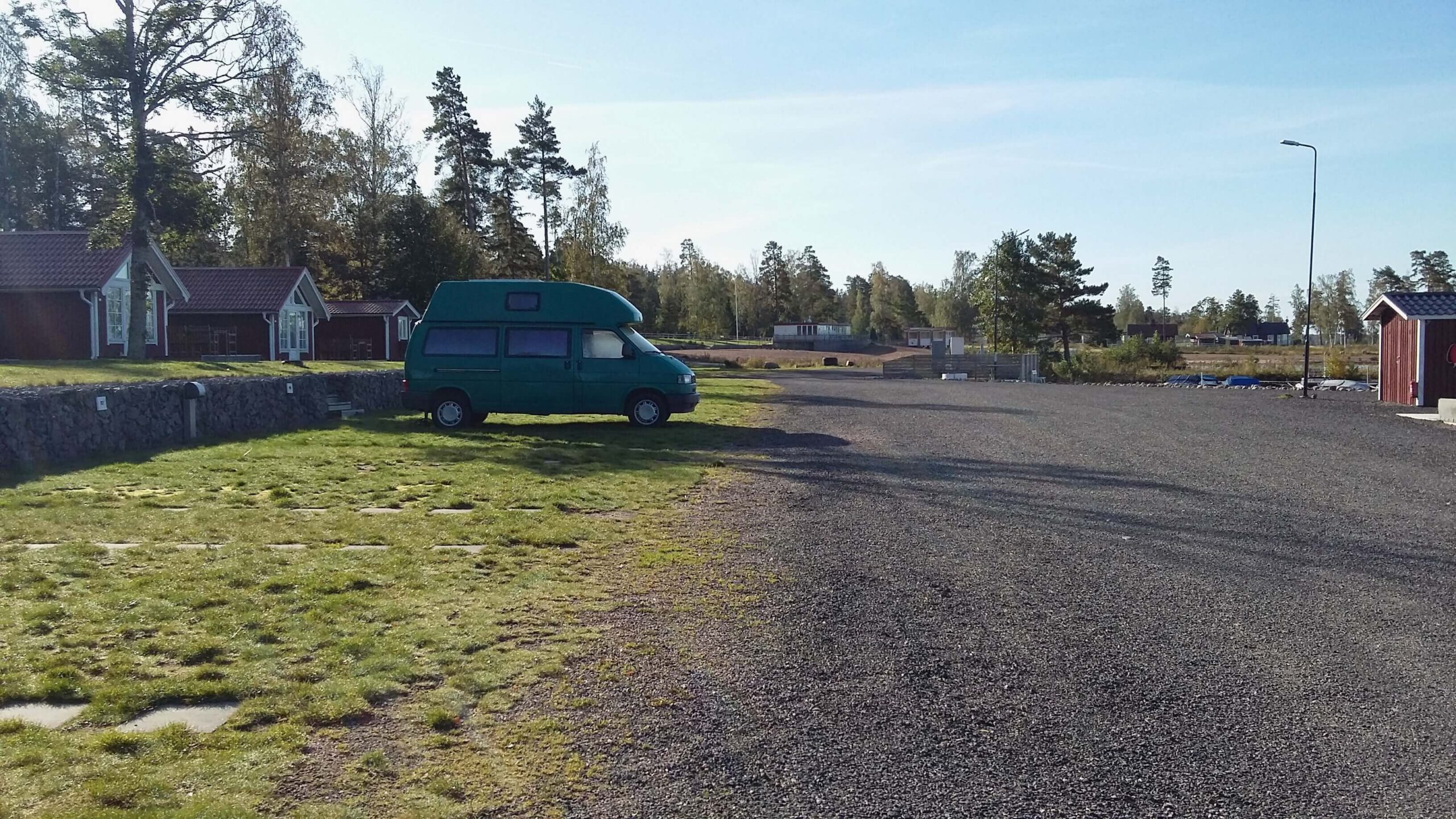 VW Bus T4 Manfred California gruen Camper Bulli mieten Rostock bincampen überall Zuhause